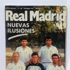 Coleccionismo deportivo: REVISTA REAL MADRID NÚMERO 16. SEPTIEMBRE DE 1990.. Lote 82207692