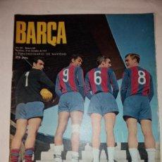 Coleccionismo deportivo: BARÇA - FC BARCELONA - EXTRAORDINARIO NAVAIDAD - 20 DICIEMBRE AÑO 1967 - ESPECIAL BON NADAL. Lote 82646600