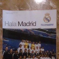 Coleccionismo deportivo: REVISTA REAL MADRID HALA MADRID NUMERO 28 NOVIEMBRE 2008. Lote 82737948