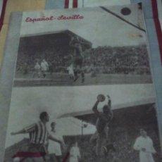 Coleccionismo deportivo: TROFEO REVISTA DEPORTIVA DE ANDALUCIA Nº 216 FEBRERO DE 1949. Lote 83031076