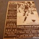 Coleccionismo deportivo: (ML)LEAN(6-7-59)GRANADA SIGUE EN 1ª,C.D.EUROPA GANA TROFEO MOSCARDÓ,ESPAÑA 2 TURQUIA 0,LANGARICA.. Lote 83337416