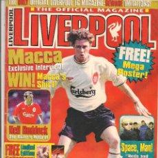 Coleccionismo deportivo: THE OFFICIAL MAGAZINE. LIVERPPOL. (Z/28). Lote 83840964