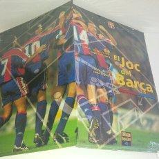 Coleccionismo deportivo: EL JUEGO DEL BARSA. EL JOC DEL BARÇA. MUNDO DEPORTIVO NUEVO A ESTRENAR. Lote 124253572