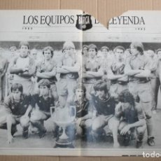 Coleccionismo deportivo: POSTER BARCELONA TEMPORADA 82-83. Lote 83967792