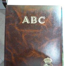 Coleccionismo deportivo: ABC - HISTORIA VIVA DEL REAL MADRID - 2 TOMOS. Lote 84036780
