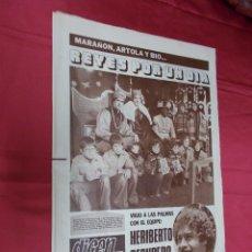 Coleccionismo deportivo: DICEN. ASENSI: BALANCE DE UN AÑO. MARAÑON, ARTOLA Y BIO... REYES POR UN DIA. Nº 4.009. 4 ENERO 1978.. Lote 84329836