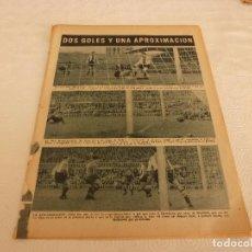 Coleccionismo deportivo: (ML)LEAN(ABRIL-1955)LIGA BARÇA 1 HÉRCULES 1,GRAN ACTUACION DE PAZOS EN LAS CORTS.. Lote 84477300