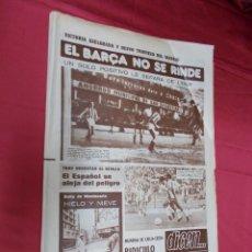 Coleccionismo deportivo: DICEN. EL BARÇA NO SE RINDE. REAL SOCIEDAD,1- BARCELONA, 2. Nº 4.025. 23 ENERO 1978.. Lote 84614968