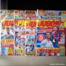 Coleccionismo deportivo: LOTE 4 REVISTAS JUGON PANINI. 122 123 124 125. Lote 86074802