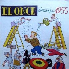 Colecionismo desportivo: RV-111. .EL ONCE. ALMANAQUE PARA 1955. REVISTA HUMORISTICA DE FUTBOL Y DEPORTES. BARCELONA. Lote 84851988