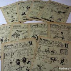 Coleccionismo deportivo: RV-174. EL ONCE. REVISTA HUMORISTICA DE FUTBOL. AÑO 1953. 52 REVISTAS. AÑO COMPLETO.. Lote 85051852