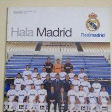 Coleccionismo deportivo: REVISTA HALA REAL MADRID CLUB DE FÚTBOL Nº 32 SEPTIEMBRE 2009. PEPE ALONSO KAKA DRENTHE 350 GR APROX. Lote 104317559