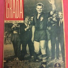 Coleccionismo deportivo: SEMANARIO GRADA. N-1. AÑO-1. 31-AGOSTO-1961. HOMENAJE A KUBALA. Lote 85924648