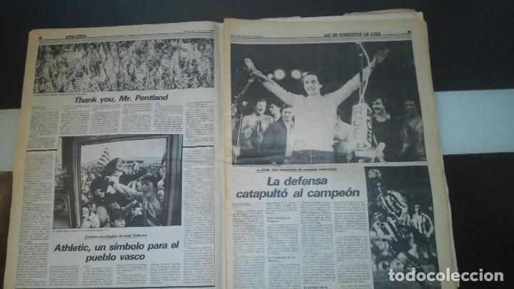 Coleccionismo deportivo: periodico deia extra athletic - Foto 2 - 86075424