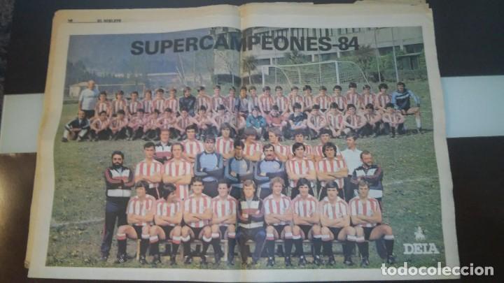 Coleccionismo deportivo: periodico deia extra athletic - Foto 4 - 86075424