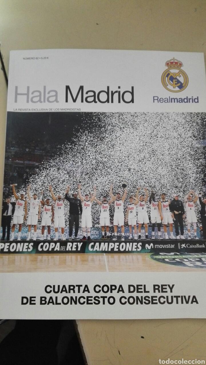 REVISTA HALA MADRID N° 62 / INCLUYE POSTER (Coleccionismo Deportivo - Revistas y Periódicos - otros Fútbol)
