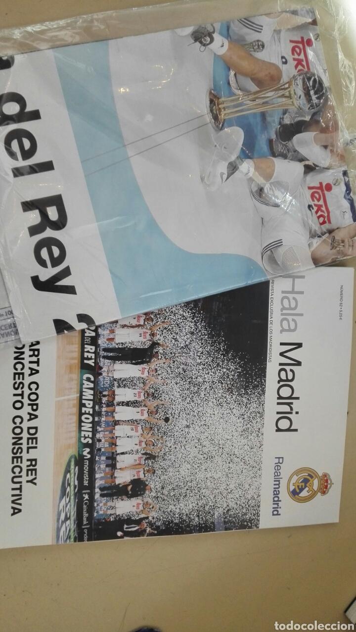 Coleccionismo deportivo: Revista Hala Madrid n° 62 / incluye poster - Foto 2 - 86176960