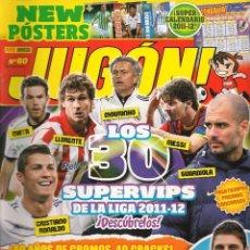 Coleccionismo deportivo: REVISTA JUGÓN. Nº 60. PANINI. (ST/B3). Lote 86309100