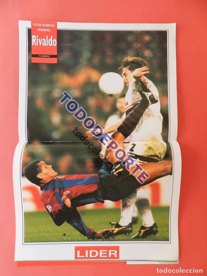 Coleccionismo deportivo: REVISTA EQUIPO LIDER COLECCION COMPLETA Nº 1 AL 34 LOTE PRIMERAS REVISTAS POSTER FICHAS 96-98 - Foto 12 - 220572626