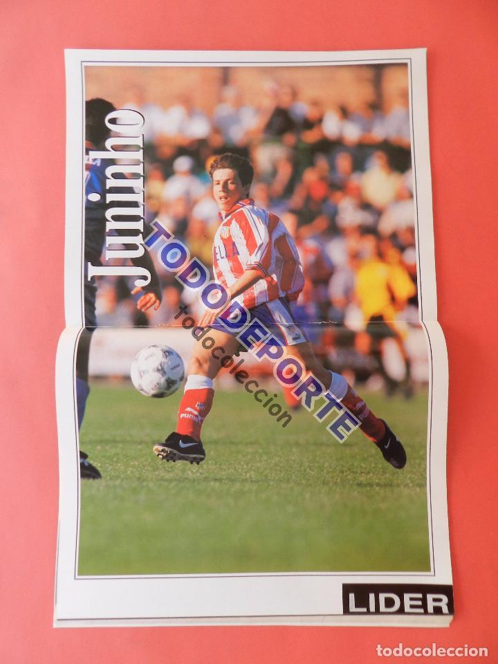 Coleccionismo deportivo: REVISTA EQUIPO LIDER COLECCION COMPLETA Nº 1 AL 34 LOTE PRIMERAS REVISTAS POSTER FICHAS 96-98 - Foto 13 - 220572626