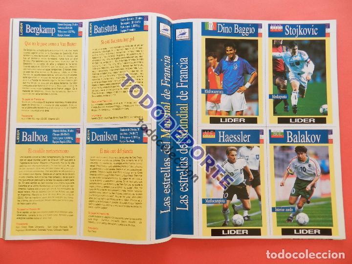 Coleccionismo deportivo: REVISTA EQUIPO LIDER COLECCION COMPLETA Nº 1 AL 34 LOTE PRIMERAS REVISTAS POSTER FICHAS 96-98 - Foto 14 - 220572626