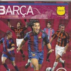 Coleccionismo deportivo: REVISTA OFICIAL FC.BARCELONA.AGOSTO 2004.. Lote 86544516