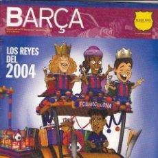 Coleccionismo deportivo: REVISTA OFICIAL FC.BARCELONA.DICIEMBRE 2003.. Lote 86544624