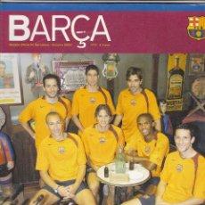 Coleccionismo deportivo: REVISTA OFICIAL FC.BARCELONA.OCTUBRE 2004.. Lote 86545200