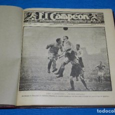 Coleccionismo deportivo: (M) REVISTA EL CAMPEON 1922 , FC BARCELONA, BOXEO, CICLISMO , ATLETISMO, FUTBOL, COCHES, OPISSO. Lote 86563208