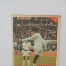 Coleccionismo deportivo: REVISTA ABC EL REAL MADRID, CAMPEÓN DE EUROPA Nº 36. UN EQUIPO VERSÁTIL. . Lote 86590100