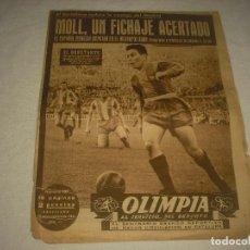 Coleccionismo deportivo: OLIMPIA, SEMANARIO GRAFICO DEPORTIVO . N° 1O7 , 1954. Lote 86795676