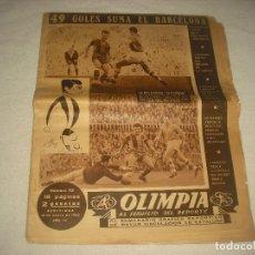 Coleccionismo deportivo: OLIMPIA, SEMANARIO GRAFICO DEPORTIVO . N° 113 , 1955. Lote 86795864