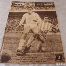 Coleccionismo deportivo: (ML)LEAN(7-4-58)PAZOS,AT.MADRID 3 BARÇA 1,ESPAÑOL 2 R.MADRID 4.. Lote 87523068