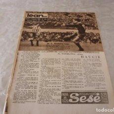 Coleccionismo deportivo: (ML)LEAN(5-10-59)PAZOS,AT.MADRID 0 BARÇA 1,COPA FERIAS INTER 2 BARÇA 4,ESPAÑOL 1 BETIS 1.. Lote 87526948