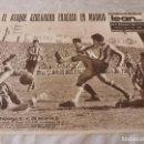 Coleccionismo deportivo: (ML)LEAN(30-11-59)ESPAÑOL 2 AT.MADRID 0 PAZOS,R.MADRID 2 BARÇA 0.. Lote 87532160