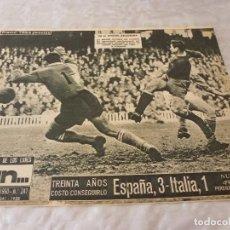 Coleccionismo deportivo: (ML)LEAN(14-3-60) ESPAÑA 3 ITALIA 1,MALLORCA-CONDAL,GUIPUZCOA 4 CATALUÑA 1FINAL JUVENIL. Lote 87533816