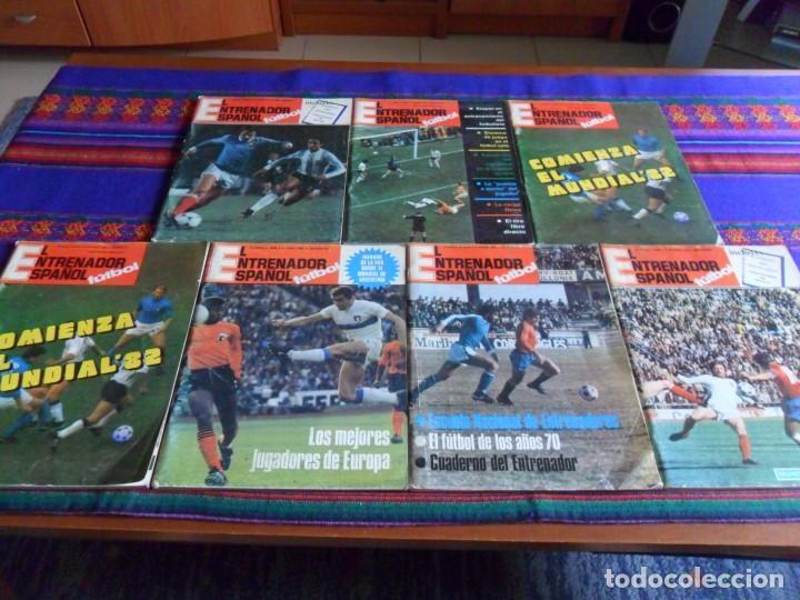 EL ENTRENADOR ESPAÑOL 2ª ÉPOCA 2 3 4 6 (2) 7 9 QUE ES REALMENTE EL 1 14 16 17 18. 1979. (Coleccionismo Deportivo - Revistas y Periódicos - otros Fútbol)