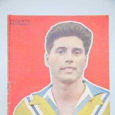 Coleccionismo deportivo - Revista / Publicación de Fútbol - Dicen... - Vicente, RCD Español. Nº 210, Año 1956 - 88298612