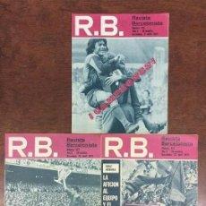 Coleccionismo deportivo: 3 REVISTAS BARCELONISTA NÚMEROS CORRELATIVOS 471-472-473 CAMPEONES LIGA AÑO 1974 F.C.BARCELONA BARÇA. Lote 88870232