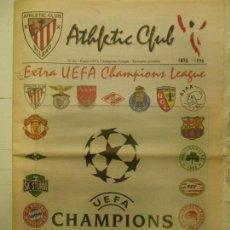 Coleccionismo deportivo: REVISTA, ATHLETIC CLUB, Nº 26, EXTRA UEFA CHAMPIONS LEAGUE, 1898-1998. Lote 90452329