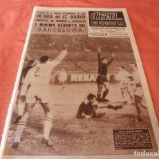 Coleccionismo deportivo: DICEN (18-11-65)SHAMROCK ROVERS 1 ZARAGOZA 1,ROYAL 2 BARÇA 1,KILMARNOCK 2 R.MADRID 2 FERIAS Y EUROPA. Lote 90518495