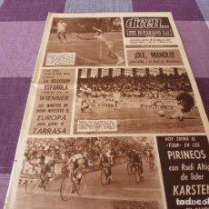 Coleccionismo deportivo: DICEN (30-6-66)ESPAÑA 5 WIENNER 0 !!! TOUR-66,EUROPA SIGUE 2ª DIV. VENCIENDO AL TARRASA.. Lote 90785265