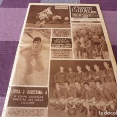 Coleccionismo deportivo: DICEN (22-8-66) LLEIDA 0 BARÇA 4, RICARDO ZAMORA.. Lote 90786985