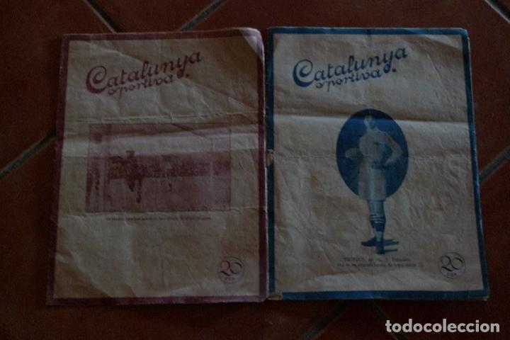 2 NUMEROS CATALUNYA ESPORTIVA 1918 (Coleccionismo Deportivo - Revistas y Periódicos - otros Fútbol)