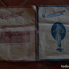 Coleccionismo deportivo: 2 NUMEROS CATALUNYA ESPORTIVA 1918. Lote 90806195