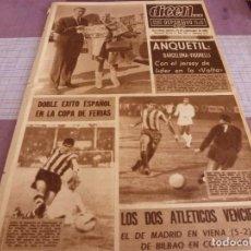 Coleccionismo deportivo: DICEN(14-9-67)COPA FERIAS EXITO ESPAÑOL,RIERA(ESPAÑOL)MONZA,TORRENT(BARÇA). Lote 91153365