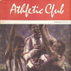 Coleccionismo deportivo: REVISTA-FASCÍCULO, ATHLETIC CLUB DE BILBAO, Nº 2, TEMPORADA 83/84, LIGA, FÚTBOL. Lote 91553375