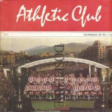 Coleccionismo deportivo: REVISTA-FASCÍCULO, ATHLETIC CLUB DE BILBAO, Nº 3, TEMPORADA 83/84, COPA, FÚTBOL. Lote 91553415