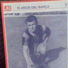 Coleccionismo deportivo: F. C. BARCELONA - SETENTA Y CINCO AÑOS DEL BARÇA 1974 BODAS DE PLATA. Lote 91745045