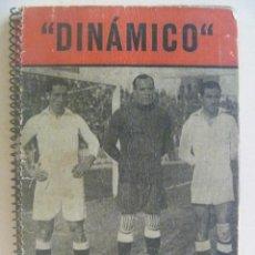 Coleccionismo deportivo: ¨ DINAMICO ¨ , LA LUCHA POR LA COPA 1956 .. ZARAGOZA , 1956. Lote 91854050